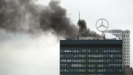 Feuer auf dem Europa-Center