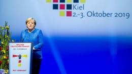 Merkel: Wiedervereinigung ist ein Prozess