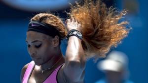 Serena Williams scheitert im Achtelfinale