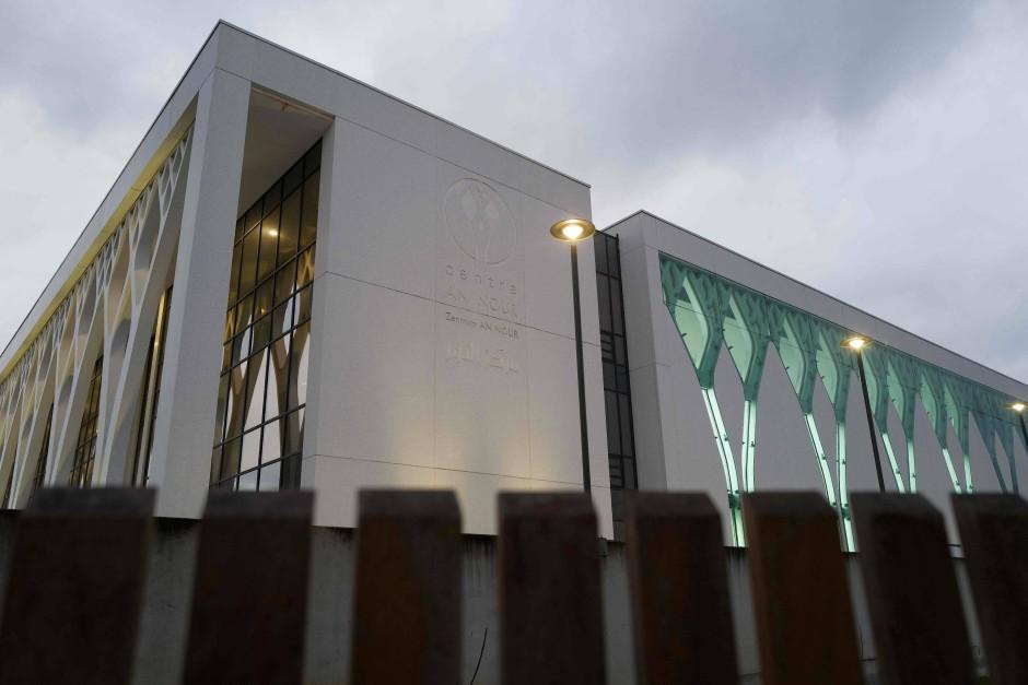 Hochmodern: der Moscheekomplexes An-Nour soll auf 10.000 Quadratmetern das bis zu 3000 Gläubige aufnehmen.