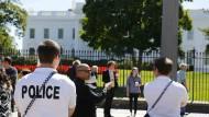 Eindringling ins Weiße Haus hatte 800 Schuss Munition im Auto