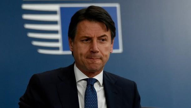 Conte stellt Ultimatum