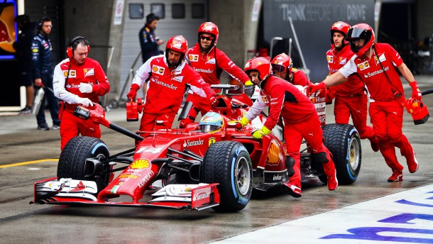 Ferrari ohne Führung