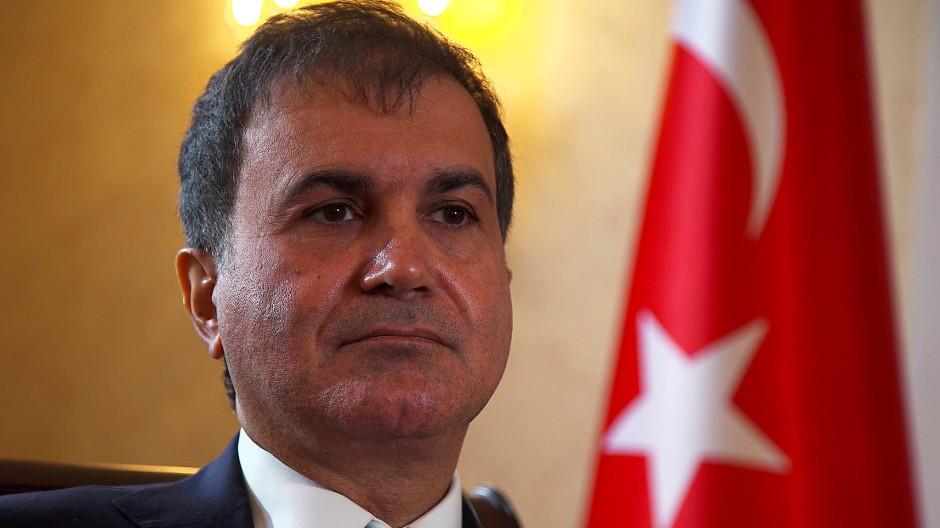 Türkischer Europa-Minister: Wir sind enttäuscht von Merkel