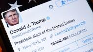 Donald Trump twittert und twittert