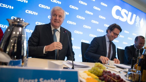 Das wahlkampftaugliche Ausrufezeichen der CSU