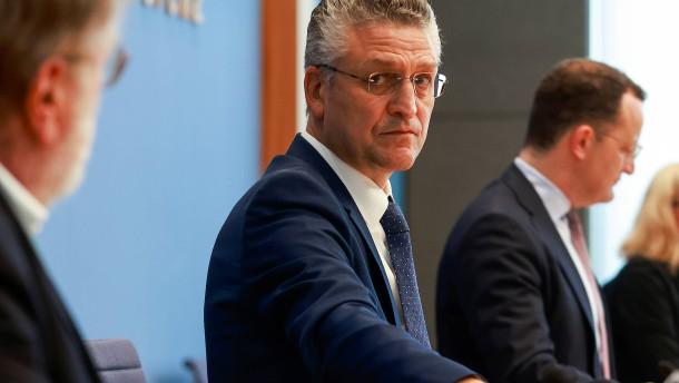FDP und Grüne unzufrieden mit RKI-Chef Wieler