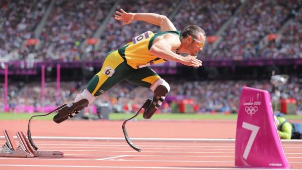 Startschuss in London: Oscar Pistorius steht im Halbfinale über 400 Meter