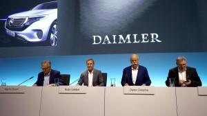 Daimler streicht Dividende und Prämien zusammen