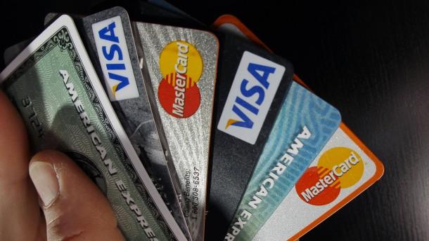 Der Siegeszug der Kreditkarten