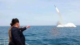 Aber über Raketen wurde nicht gesprochen