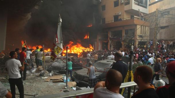 Viele Tote bei Anschlag auf Hizbullah in Beirut