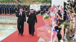 Kim Jong-Un beendet Staatsbesuch in Peking