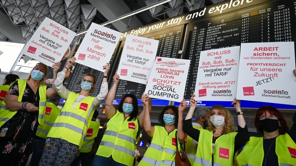 88.000 Flughafen-Mitarbeiter plagen Existenzängste