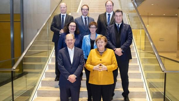 Koalitionsausschuss beschließt Klimakabinett