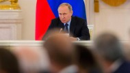 Wladimir Putin hätte gerne eine andere Person im Elysée-Palast gesehen.