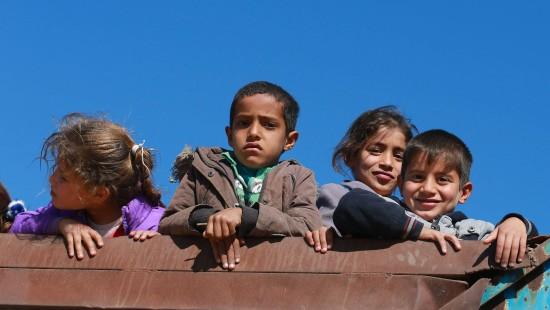 Traumatisierte Kinder in Mossul