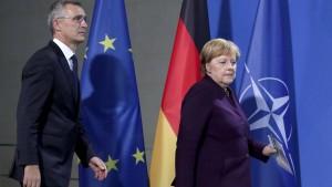 Merkel weist Macrons Kritik zurück