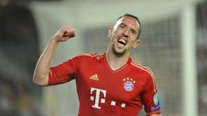 Wieder gewinnen die Bayern