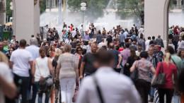 Deutsche Bevölkerung wächst durch Zuwanderung