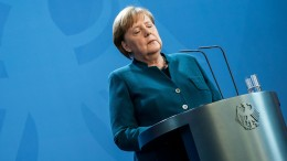 Merkel vorsichtshalber in häuslicher Quarantäne