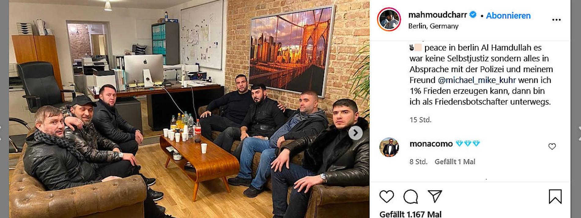 Profiboxer stiftet Frieden kurz vor Bandenkrieg