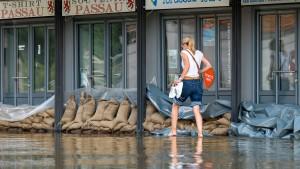 Hochwasserlage entspannt sich etwas