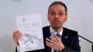 Kickl will Sicherungshaft für Asylbewerber möglich machen