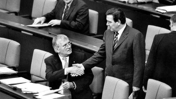 Gerhard Schröder und Otto Schily