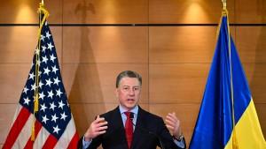 Trumps Ukraine-Gesandter Kurt Volker tritt zurück