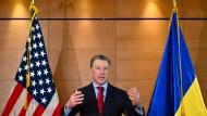 Donald Trumps Ukraine-Gesandter Kurt Volker ist laut gut informierten Kreisen am Freitag zurückgetreten.
