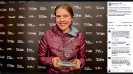 Junge Mutter stellt Ultramarathon-Rekord auf