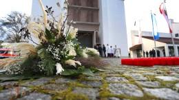 Abschied von Gewaltopfer in Augsburg