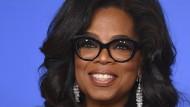 Oprah Winfrey hat den höchsten Bekanntheitsgrad
