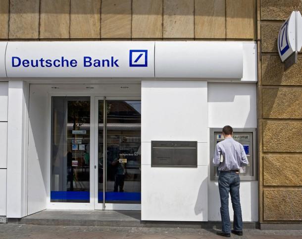 Geldautomat Deutsche Bank
