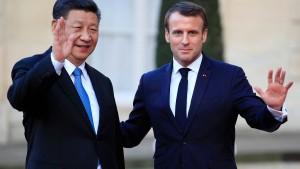 Vor allem Airbus profitiert von Präsident Xis Besuch