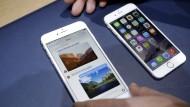 Noch sind die Verkaufszahlen in Ordnung: Das neuste iPhone-Modell ist erst wenige Monate alt