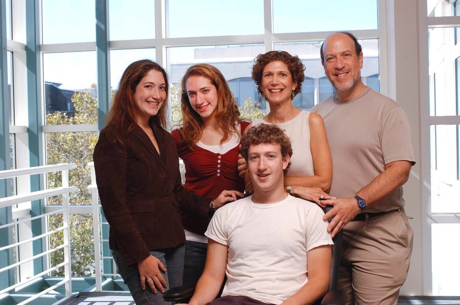 Mark Zuckerberg Familie