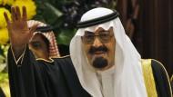 Saudi-Arabiens König Abdullah ist tot