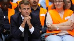 """Macron und die Angst vor dem """"schwarzen Freitag"""""""
