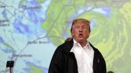 Trump sagt Betroffenen Hilfe zu