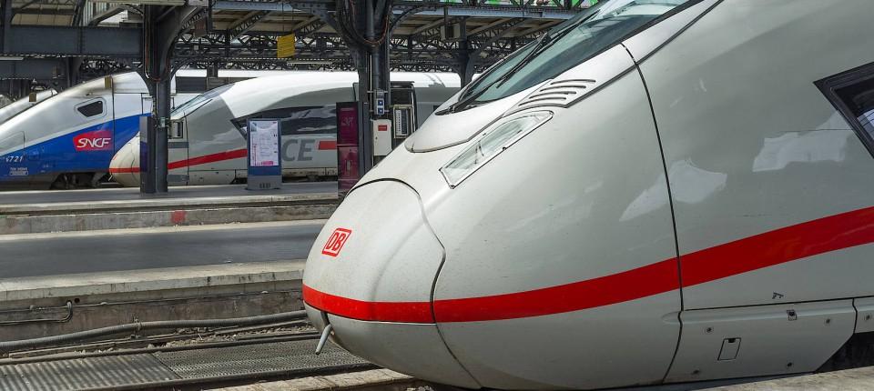 Die Hochgeschwindigkeitsverbindung Zwischen Deutschland Und