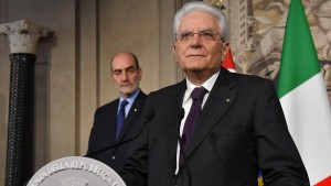 "Italiens Staatspräsident Mattarella will ""neutrale Regierung"""