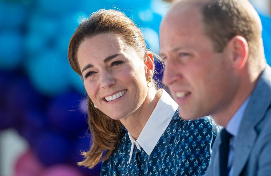 Vorzeige-Eltern: Kate und William