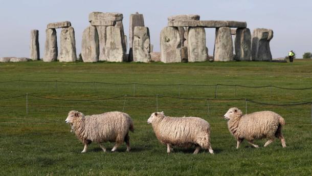 Riesige Schächte nahe Stonehenge gefunden