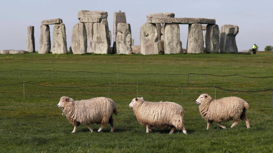 Stonehenge in Südengland.