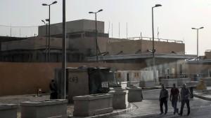 Washington zieht Teil seiner Botschaftsmitarbeiter aus Irak ab