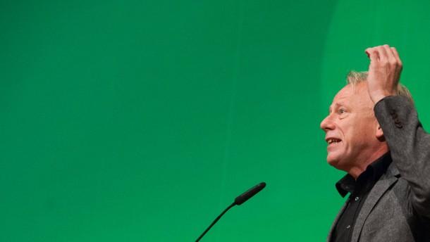 Trittin sieht wenig Chancen für schwarz-grüne Koalitionen