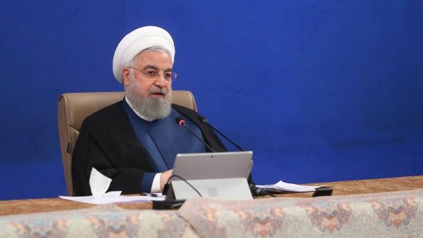 Irans Präsident droht Emiraten mit Konsequenzen