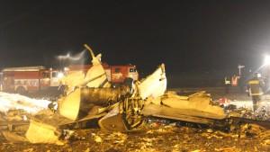 Zahlreiche Tote bei Flugzeugunglück in Russland